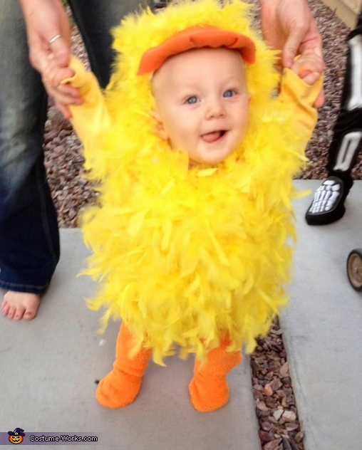 Little Yellow Duck Baby Costume