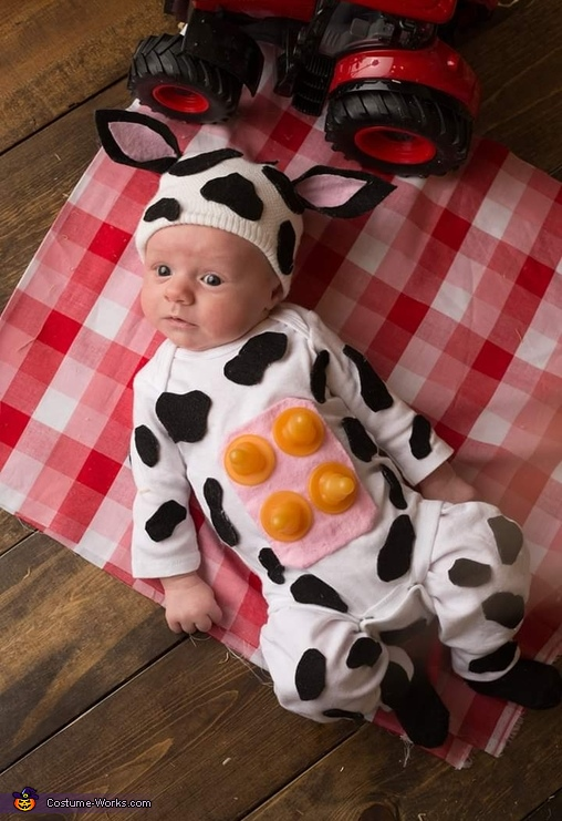 Littlest Cow On The Farm Costume