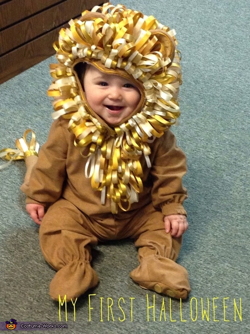 Littlest Lion Homemade Costume