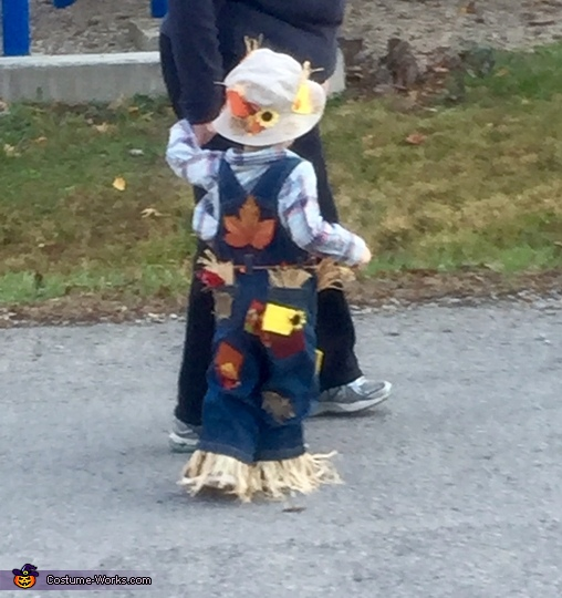 Littlest Scarecrow Homemade Costume