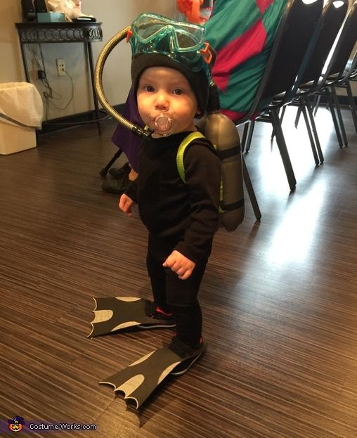 Littlest Scuba Diver Costume