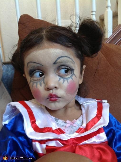 Look at those Eyes..., Living Doll Juji Costume