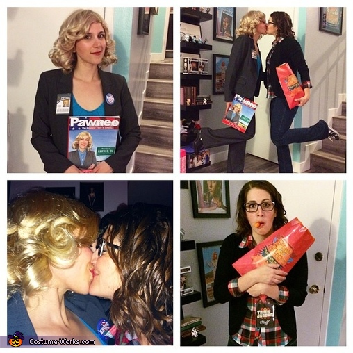Liz and Les Lezzing Out!, Liz Lemon and Leslie Knope Costume