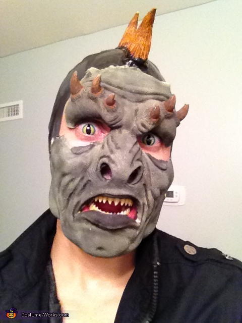 Pre-halloween work done...., Lizard Man Costume