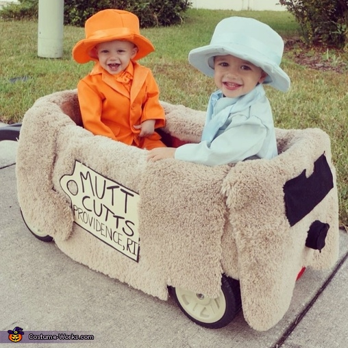 Lloyd and Harry Costume
