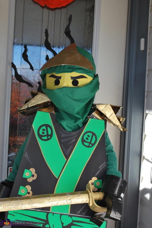 Lloyd Garmadon Homemade Costume