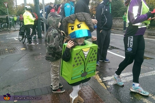 Lloyd Garmadon Homemade Costume
