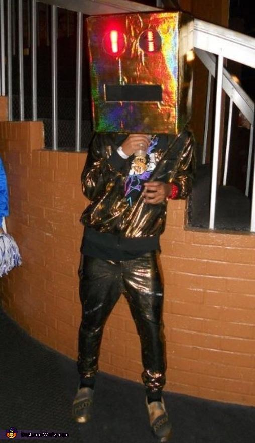 LMFAO Shuffle Bot Costume