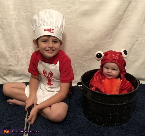 Lobster Boil Costume