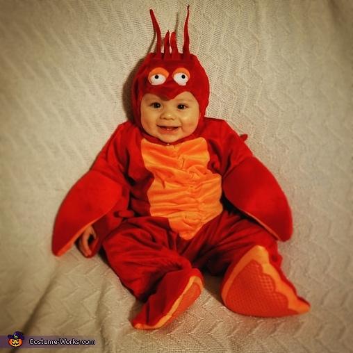 Happy little lobster boy, Lobster Boy Costume