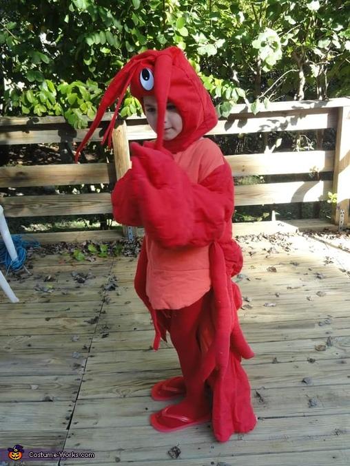 Lobster Kid Costume