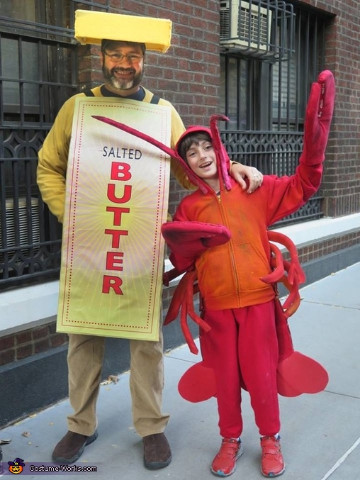 Lobster & Butter Costume