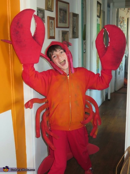 Lobster & Butter Homemade Costume