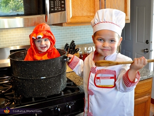 Lobster & Chef Costume