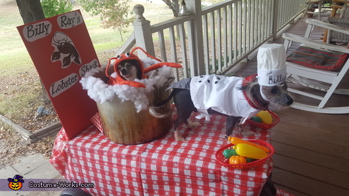 Billy Ray's Lobster Shack Costume