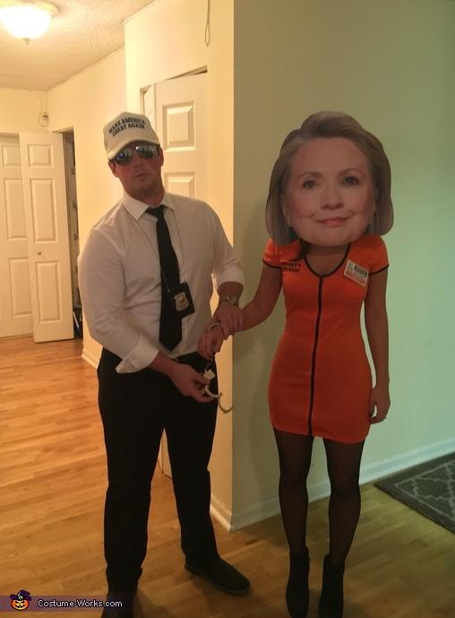 Lock Her Up! Costume
