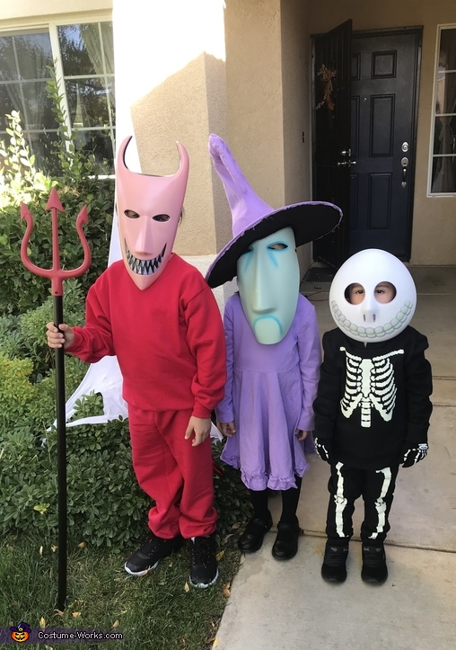 Lock Shock and Barrel Costume