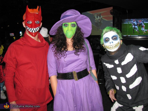 Lock, Shock, Barrel from The Nightmare Before Christmas Costume