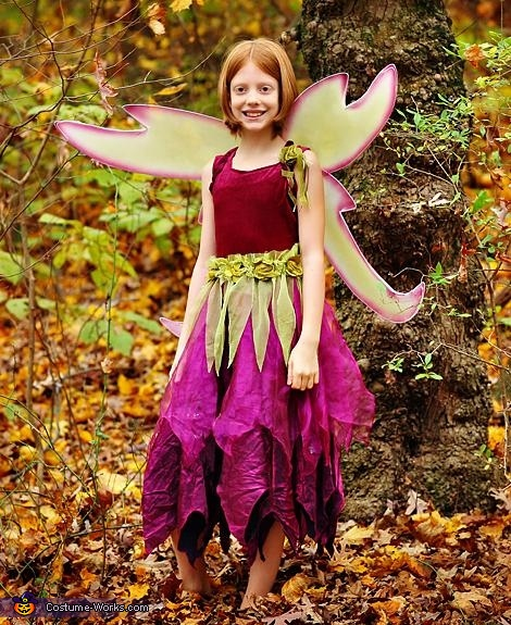 Laurali the Woodland Fairy, Locklan the Dragon Costume