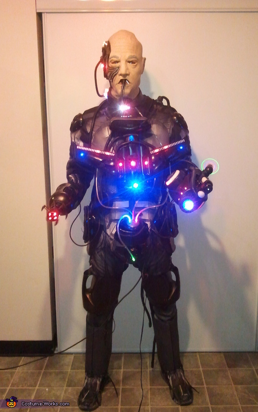 Locutus of Borg Costume