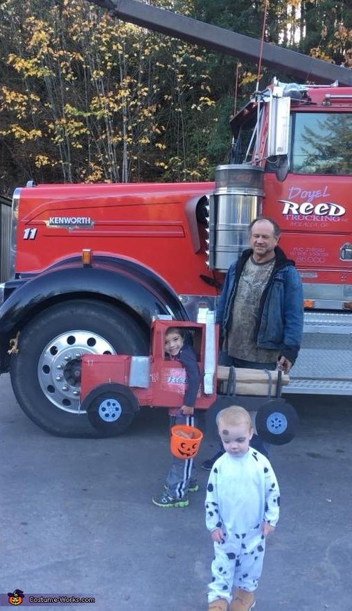 Log Truck Driver Costume