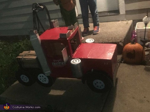 Log Truck Driver Homemade Costume