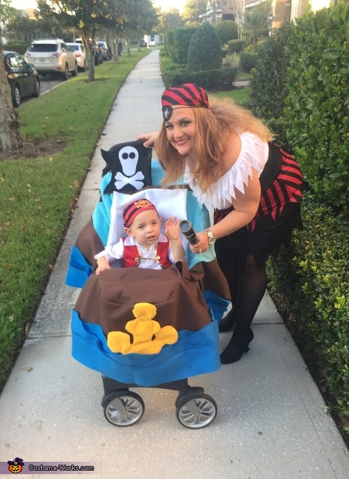 Logan's Pirate Ship Costume