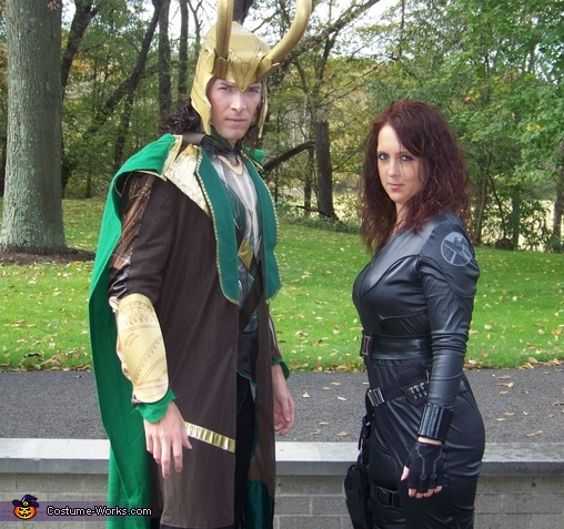 Loki and Black Widow, Loki Costume