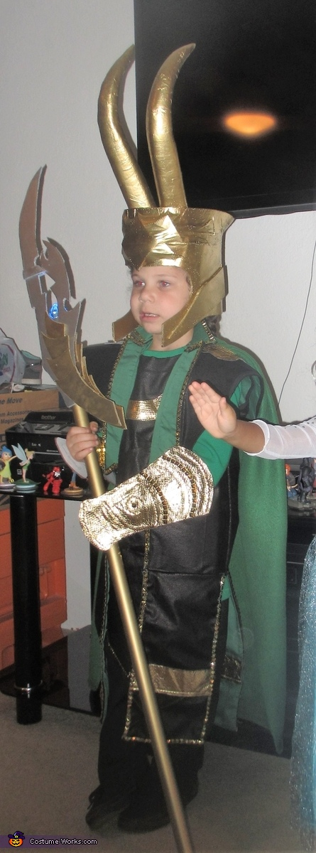 Loki Homemade Costume