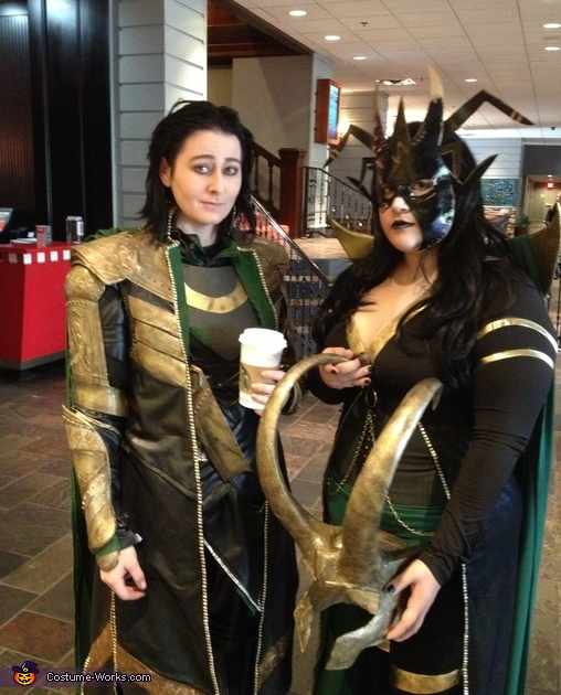 Without the helmet!, Loki Costume