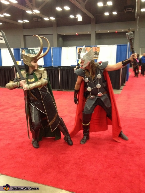 Loki vs Thor, Loki Costume