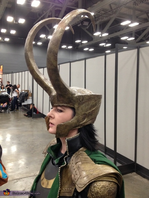 Close up on the helmet!, Loki Costume