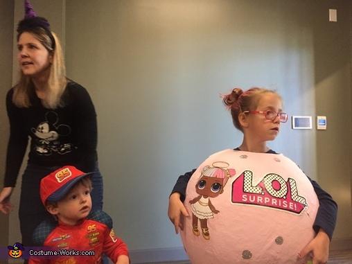 LOL Doll Ball Homemade Costume