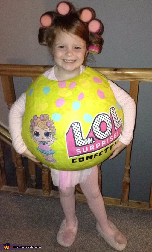 LOL Doll in a Ball Costume