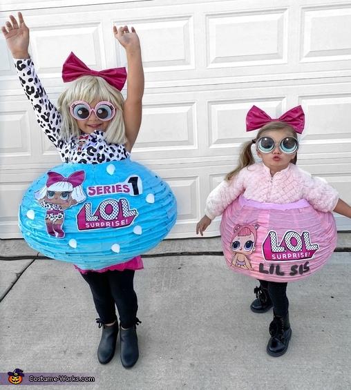 Real Life LOL Dolls (minus the slutty tattoos ;), Lol Dolls Costume