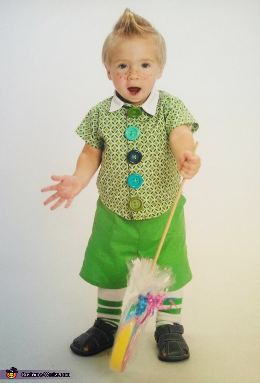 Lollipop Guild Munchkin - Homemade costumes for boys