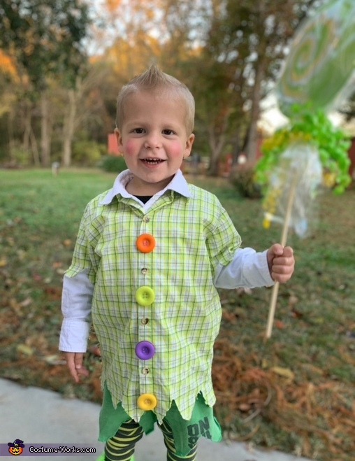 Lollipop kid, Lollipop Kid Costume