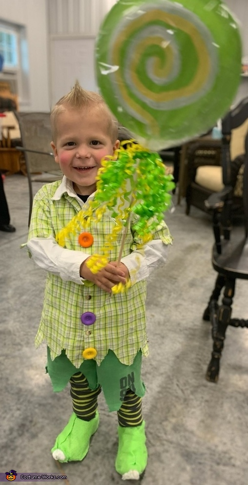 Lollipop Kid Costume