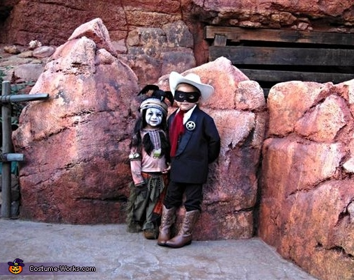 Lone Ranger and Tonto, The Lone Ranger and Tonto Costume