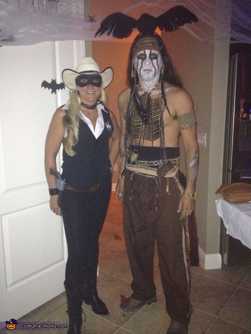Lone Ranger and Tonto Couple Costume