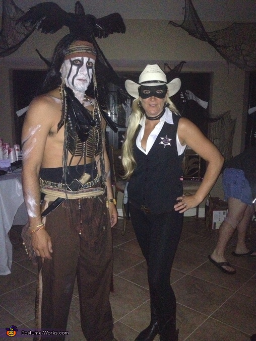 Lone Ranger and Tonto Couples Costume