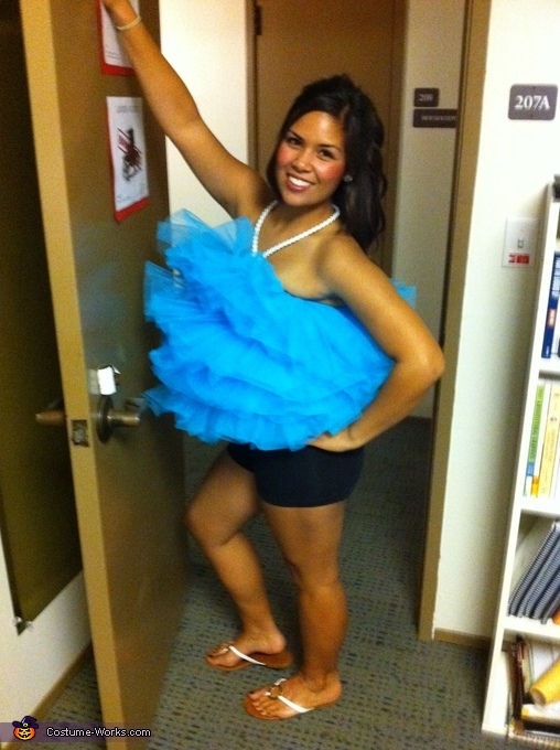 The Loofah has arrived!, Loofah Costume