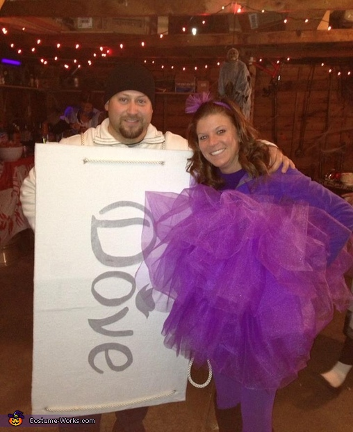 Loofah and Dove Soap Costume