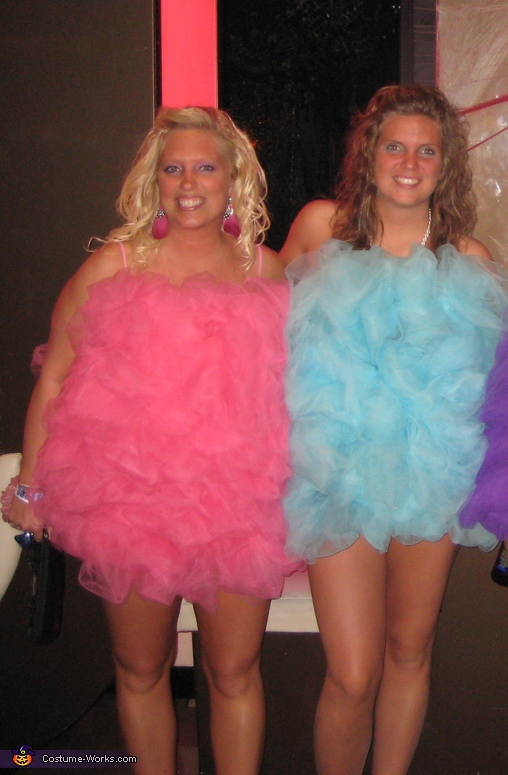 Loofah Girls - Homemade costumes for groups