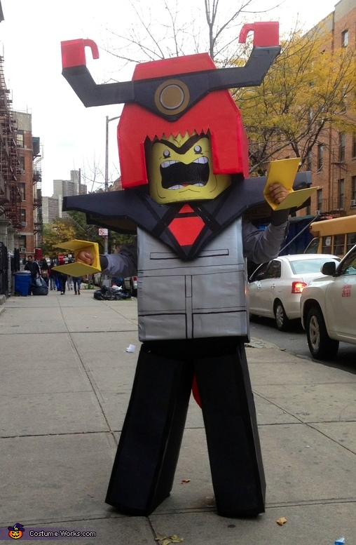 Lord Business Lego Costume