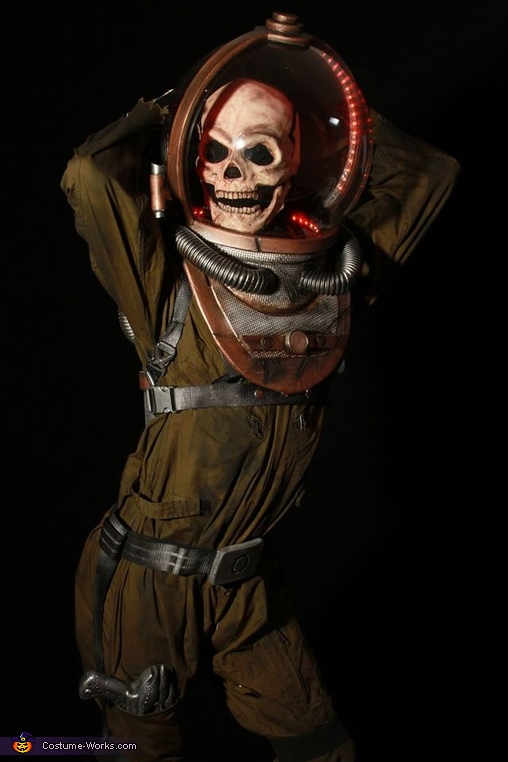 Lord Gorloch Space Villain Homemade Costume