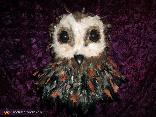 Owlman head completed, Lord of Tears Owlman Costume