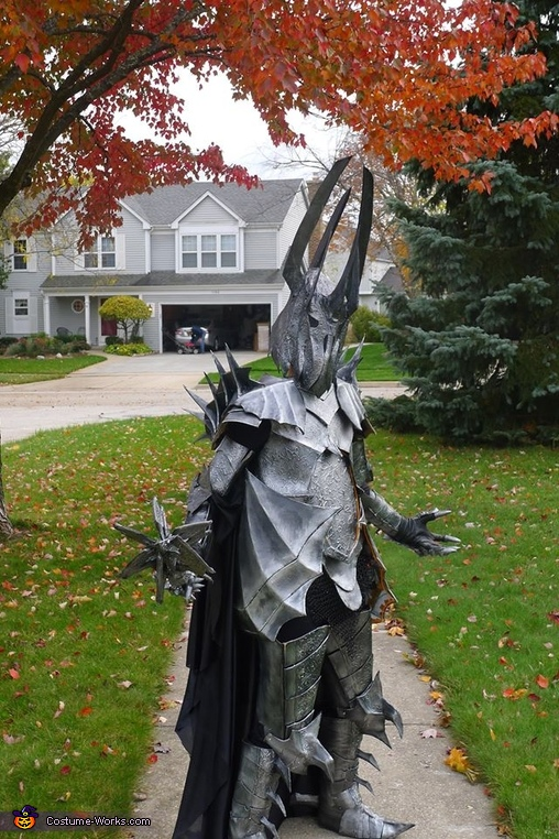 Lord of the Rings Sauron Homemade Costume