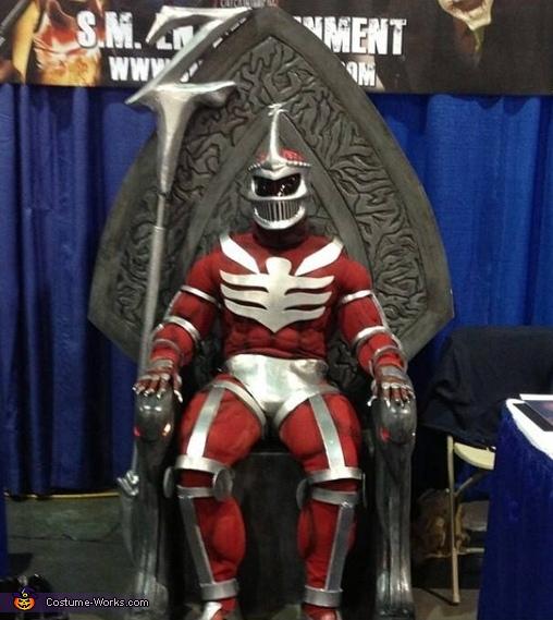 Lord Zedd Costume