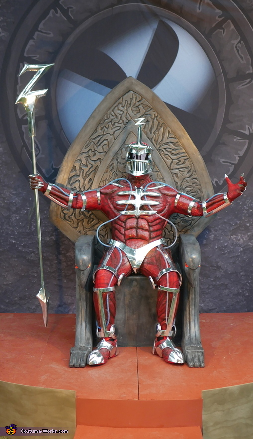 Mighty Morphin Power Rangers Lord Zedd Costume